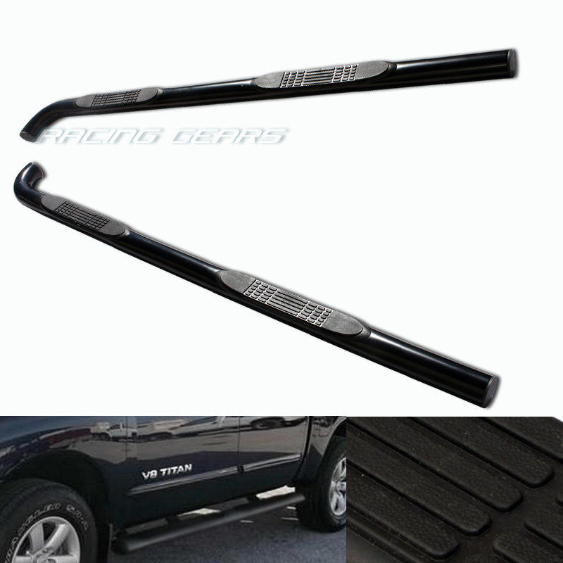 For 04 07 Nissan Titan King Cab Running Board Side Step