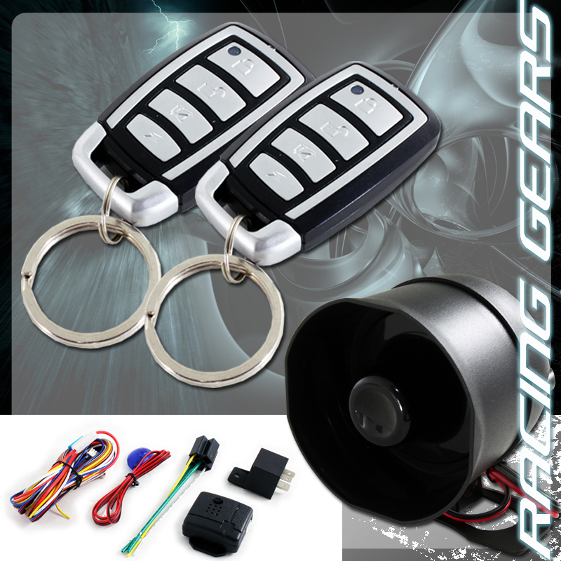 vehicle security system alarm ford accessories