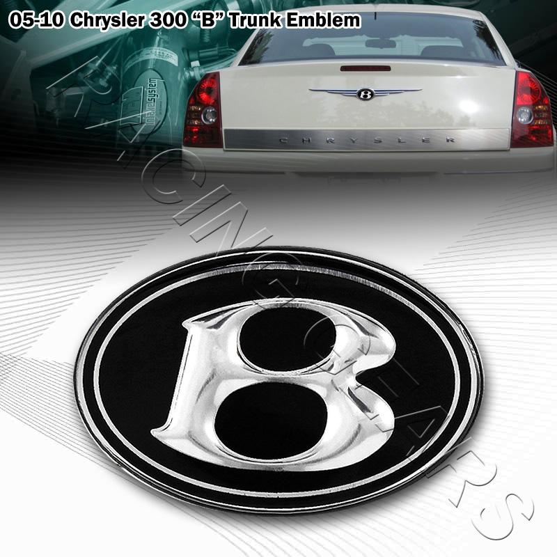 Rear emblem chrysler 300 #3