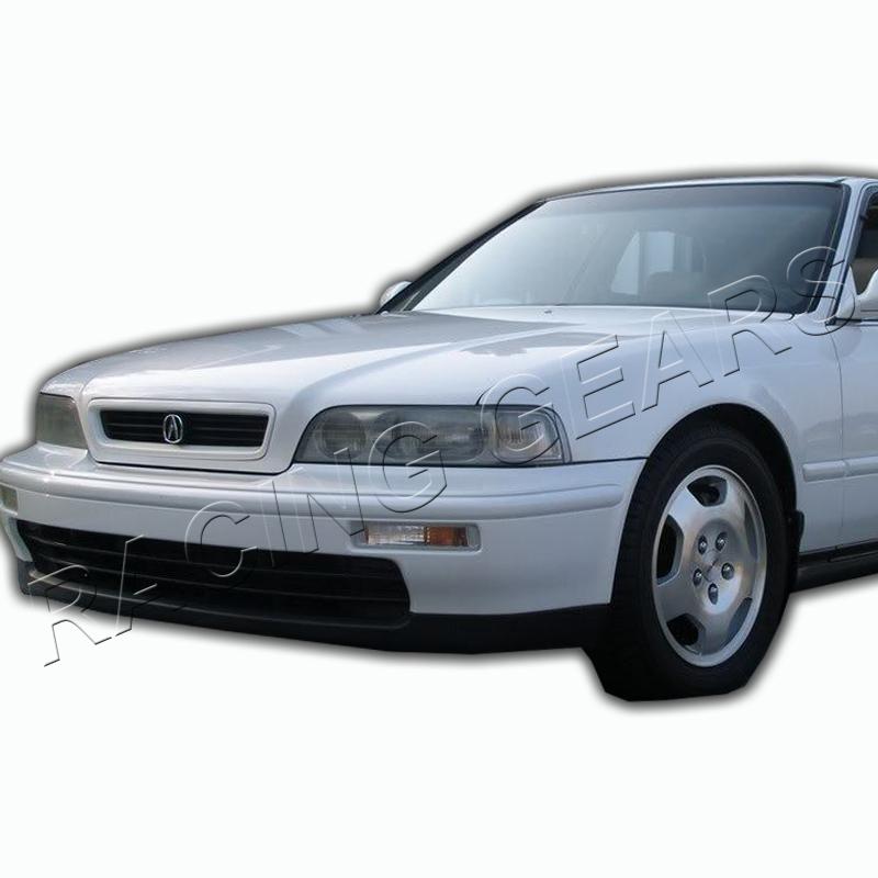 For 91-95 Acura Legend 2 Door Chrome Housing Clear Lens