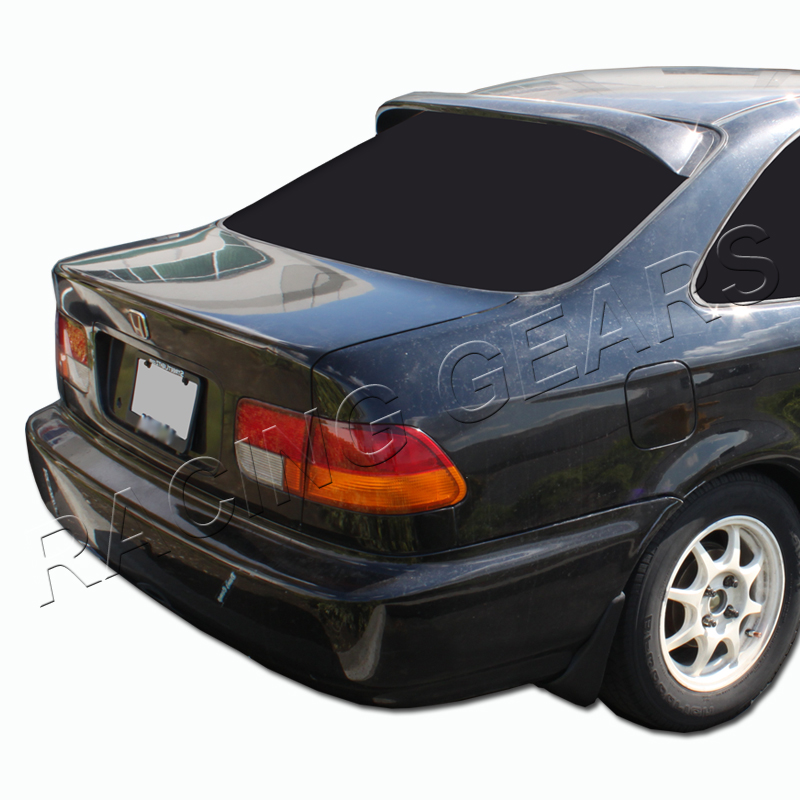 1996 2000 honda civic coupe black abs rear roof window for 2000 honda civic rear window visor