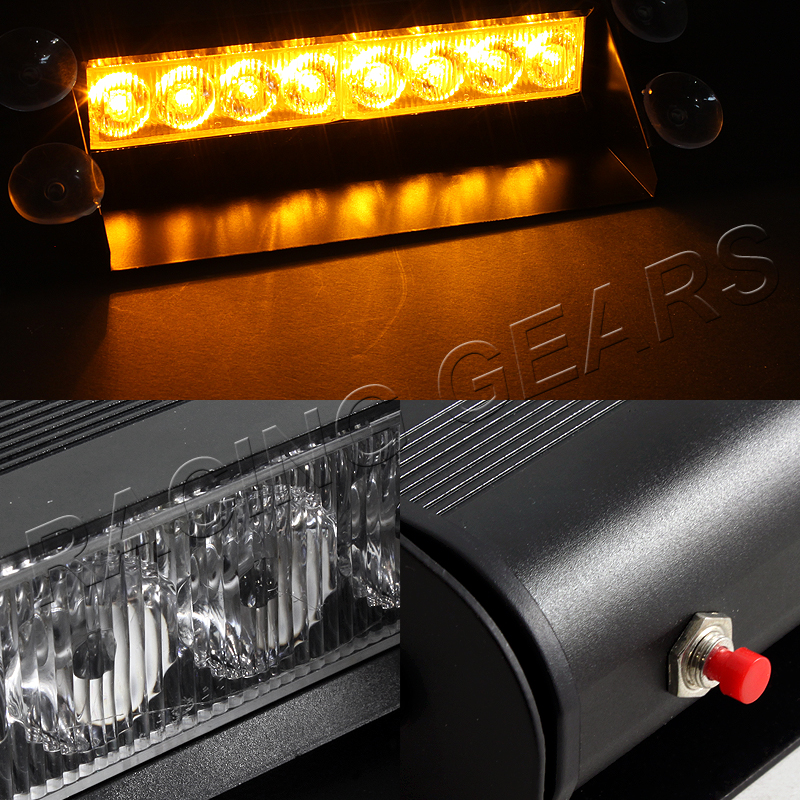 car truck suv dashboard warning flash strobe light bar ebay. Black Bedroom Furniture Sets. Home Design Ideas