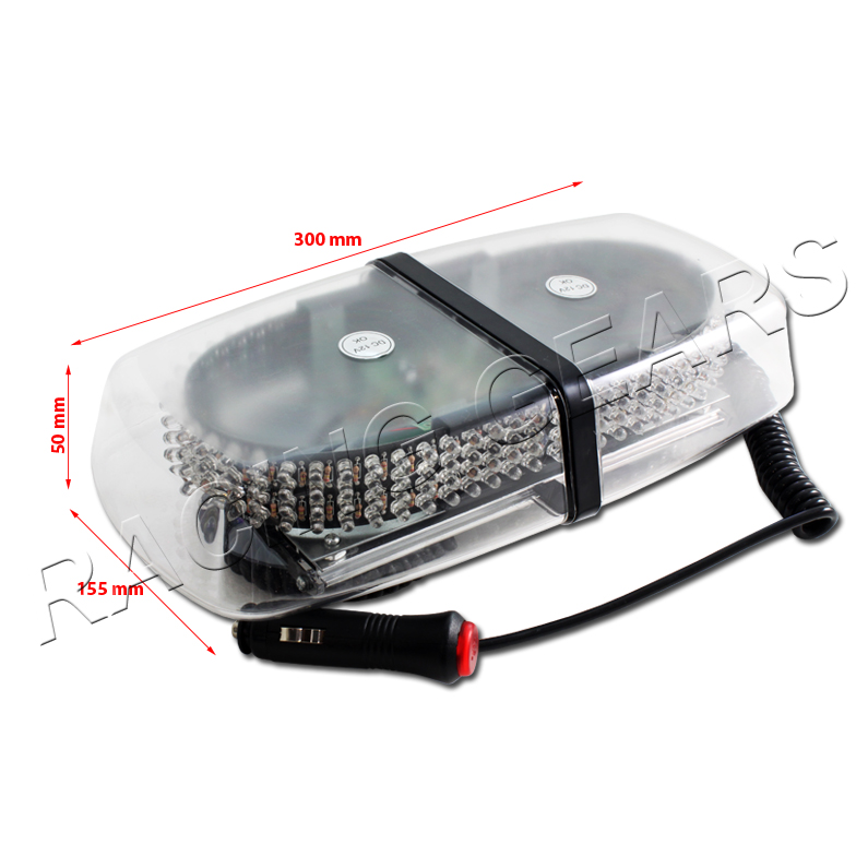 led red car truck emergency warning hazard roof top flash strobe light. Black Bedroom Furniture Sets. Home Design Ideas