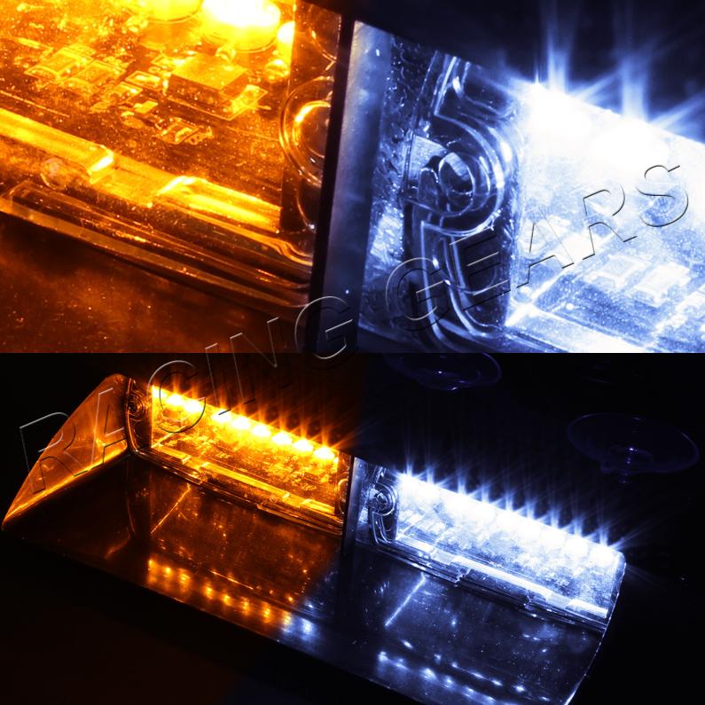 Led Lights Affecting Garage Door Openers: 16 WHITE & AMBER LED EMERGENCY HAZARD WARNING INTERIOR